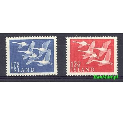 Znaczek Islandia 1956 Mi 312-313 Czyste **