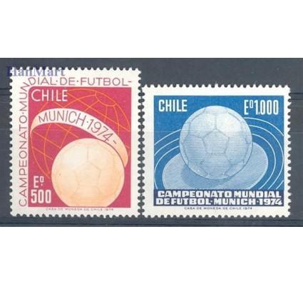 Znaczek Chile 1974 Mi 804-805 Czyste **