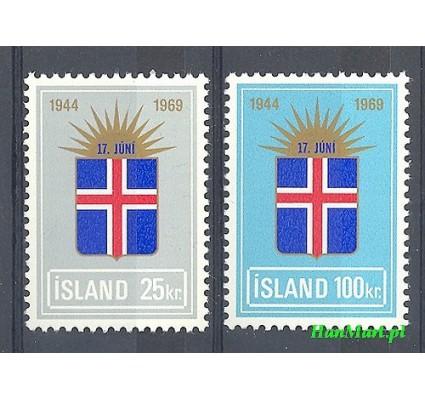 Islandia 1969 Mi 430-431 Czyste **