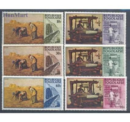 Znaczek Togo 1968 Mi 635-640 Czyste **