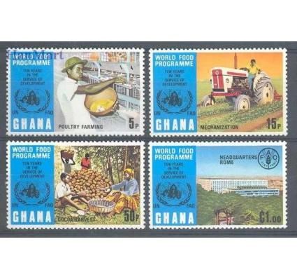 Znaczek Ghana 1973 Mi 526-529 Czyste **