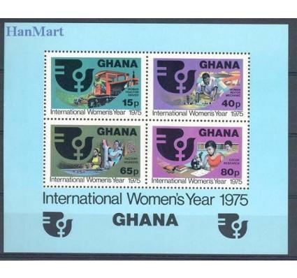 Znaczek Ghana 1975 Mi bl 61 Czyste **
