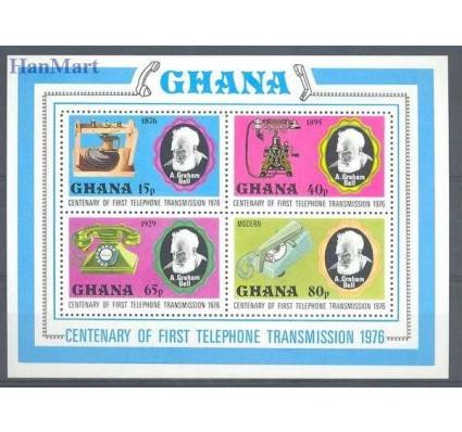 Ghana 1976 Mi bl 66 Czyste **