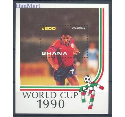 Znaczek Ghana 1990 Mi bl 157 Czyste **