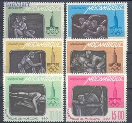Mozambik 1979 Mi 687-692 Czyste **