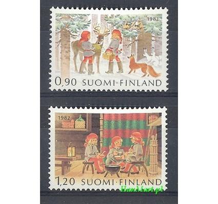 Znaczek Finlandia 1982 Mi 916-917 Czyste **