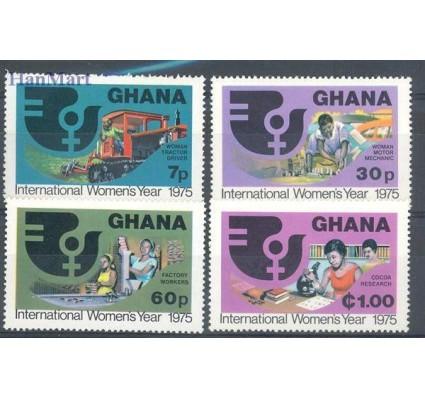Znaczek Ghana 1975 Mi 605-608 Czyste **