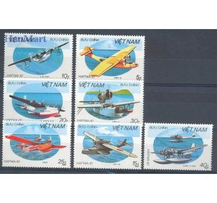 Znaczek Wietnam 1987 Mi 1860-1866 Czyste **
