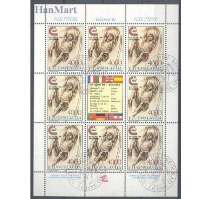 Znaczek Jugosławia 1989 Mi ark 2344 Stemplowane
