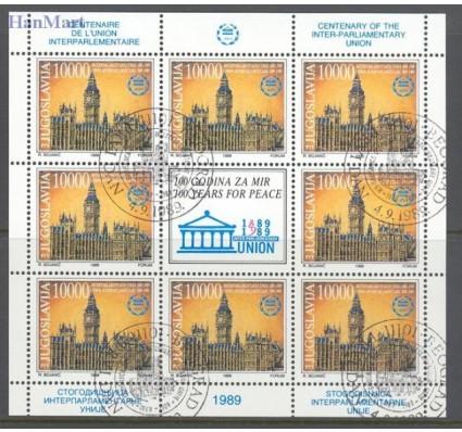Znaczek Jugosławia 1989 Mi 2367-2368 Stemplowane