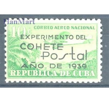 Znaczek Kuba 1939 Mi 161 Czyste **