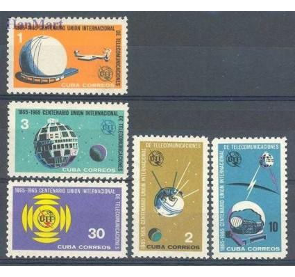 Znaczek Kuba 1965 Mi 1026-1030 Czyste **
