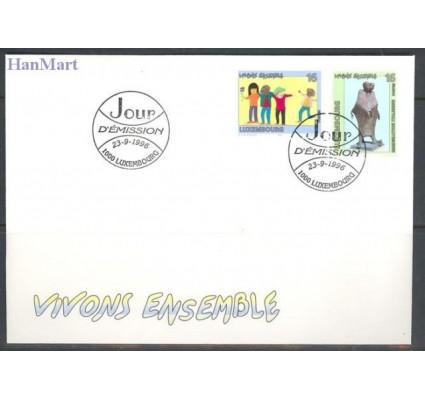 Znaczek Luksemburg 1996 Mi 1398-1399 FDC