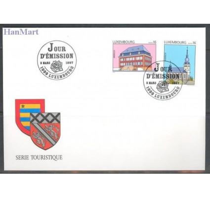 Znaczek Luksemburg 1997 Mi 1414-1415 FDC