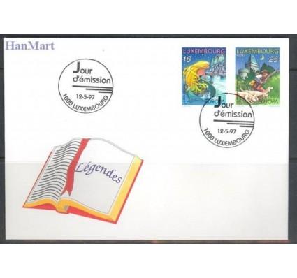 Znaczek Luksemburg 1997 Mi 1418-1419 FDC
