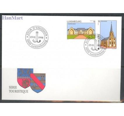 Znaczek Luksemburg 1998 Mi 1440-1441 FDC