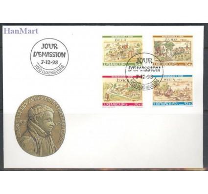 Znaczek Luksemburg 1998 Mi 1460-1463 FDC