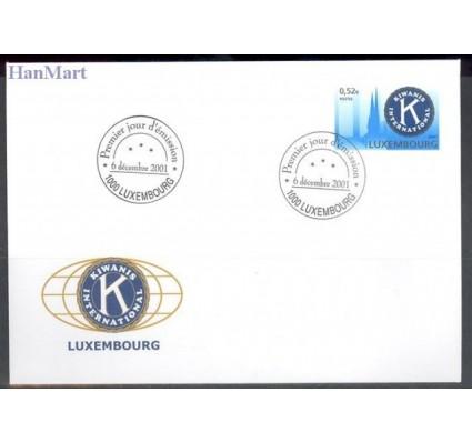 Znaczek Luksemburg 2001 Mi 1558 FDC
