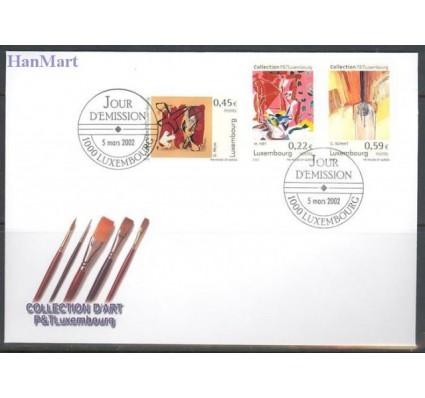 Znaczek Luksemburg 2002 Mi 1559-1561 FDC