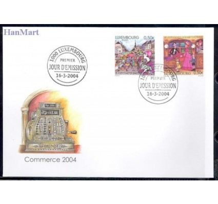 Luksemburg 2004 Mi 1634-1635 FDC