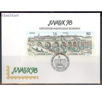 Znaczek Luksemburg 1998 Mi bl 17 FDC