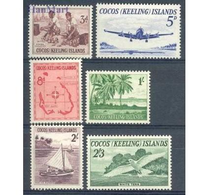 Znaczek Wyspy Kokosowe / Keelinga 1963 Mi 1-6 Czyste **