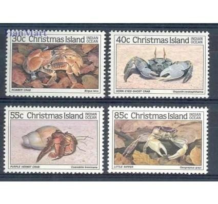 Znaczek Wyspa Bożego Narodzenia 1985 Mi 199-202 Czyste **