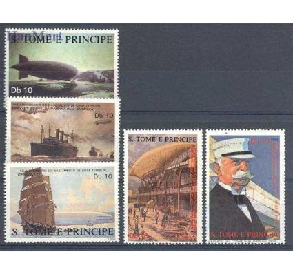 Znaczek Wyspy Św. Tomasza i Książęca 1988 Mi 1056-1060 Czyste **