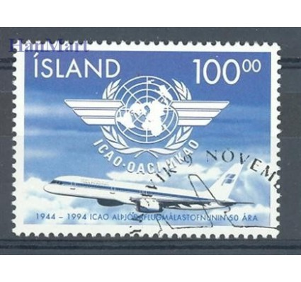 Znaczek Islandia 1994 Mi 815 Stemplowane