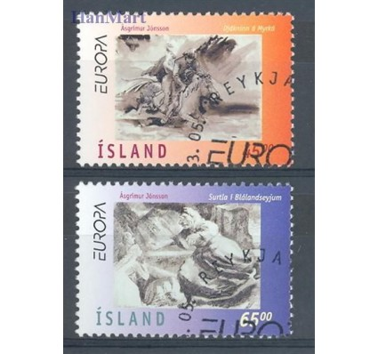 Islandia 1997 Mi 872-873 Stemplowane