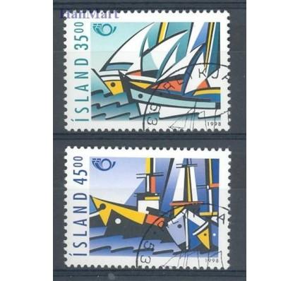 Znaczek Islandia 1998 Mi 884-885 Stemplowane