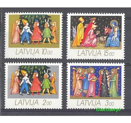 Łotwa 1992 Mi 344-347 Czyste **
