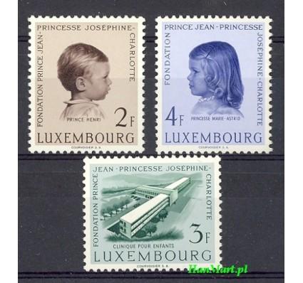 Znaczek Luksemburg 1957 Mi 569-571 Czyste **