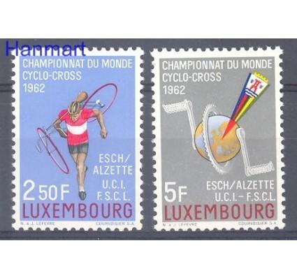 Luksemburg 1962 Mi 655-656 Czyste **