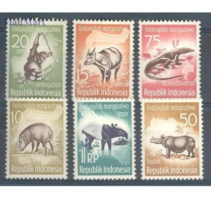 Znaczek Indonezja 1959 Mi 237-242 Czyste **