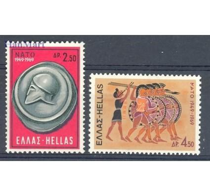 Znaczek Grecja 1969 Mi 1002-1003 Czyste **