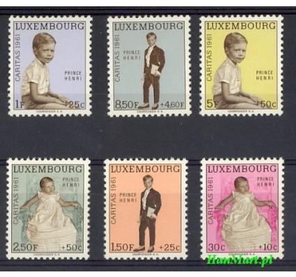 Luksemburg 1961 Mi 649-654 Czyste **