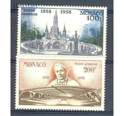 Znaczek Monako 1958 Mi 601-602 Czyste **
