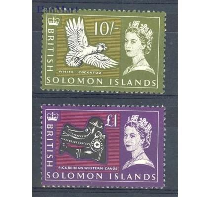 Znaczek Wyspy Salomona 1965 Mi 126-127 Czyste **