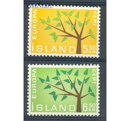 Znaczek Islandia 1962 Mi 364-365 Czyste **