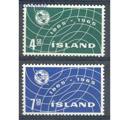 Znaczek Islandia 1965 Mi 390-391 Czyste **