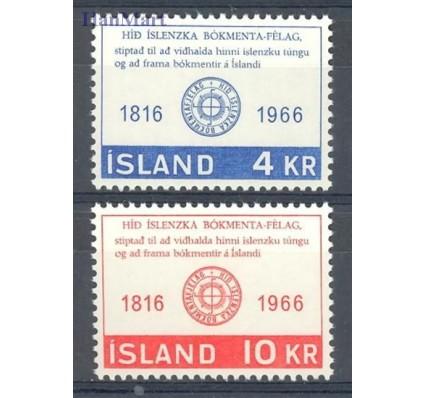 Islandia 1966 Mi 406-407 Czyste **