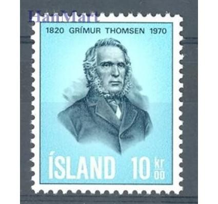Znaczek Islandia 1970 Mi 445 Czyste **