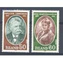 Islandia 1978 Mi 528-529 Czyste **