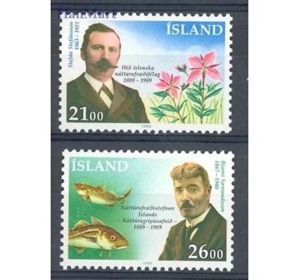Znaczek Islandia 1989 Mi 710-711 Czyste **