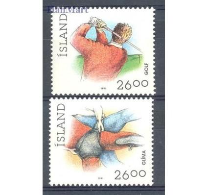 Znaczek Islandia 1991 Mi 749-750 Czyste **