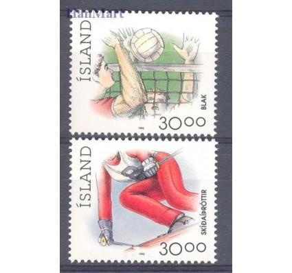 Islandia 1992 Mi 760-761 Czyste **