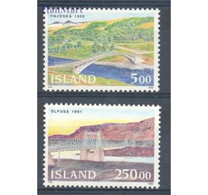 Znaczek Islandia 1992 Mi 768-769 Czyste **