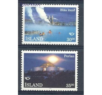 Znaczek Islandia 1993 Mi 784-785 Czyste **