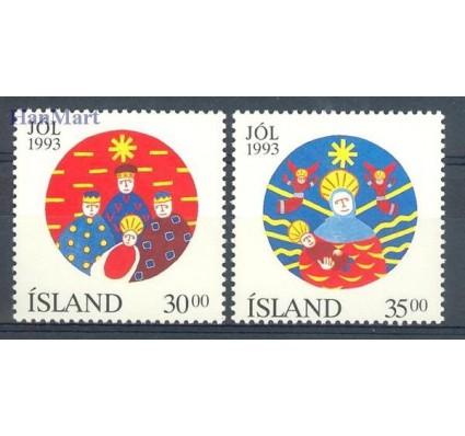 Znaczek Islandia 1993 Mi 795-796 Czyste **